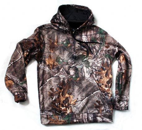Realtree Childrens Kids Boys Youths Camo Hoody Top Shooting New Warm RRP £35